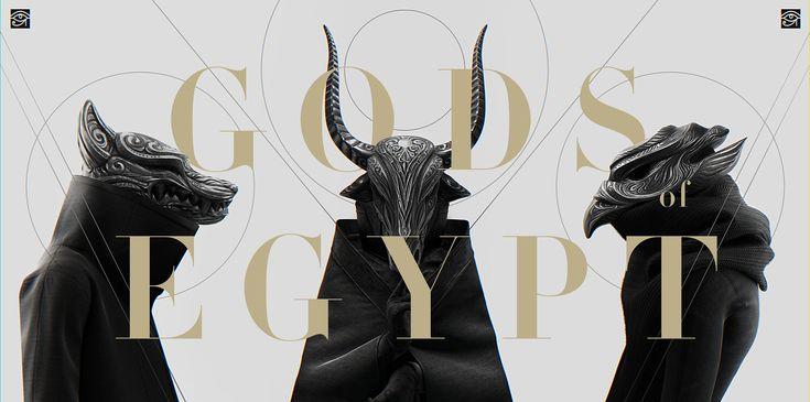 Gods of Egypt on Behance