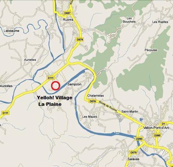 Camping Yelloh Village La Plaine - Ardeche