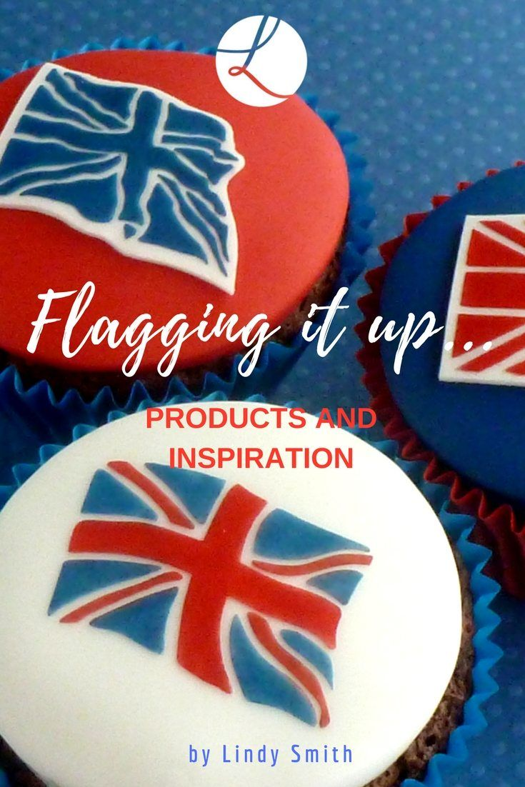 Lindy's Cakes has a perfectly patriotic selection of Union Jack stencils and flag cutters and to help you decorate cakes with union jack flags and bunting via @lindyscakes