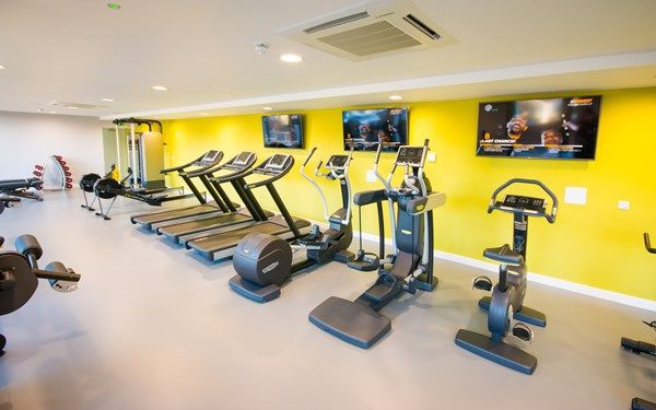 We have a 24/7 gym that is fully equipped.