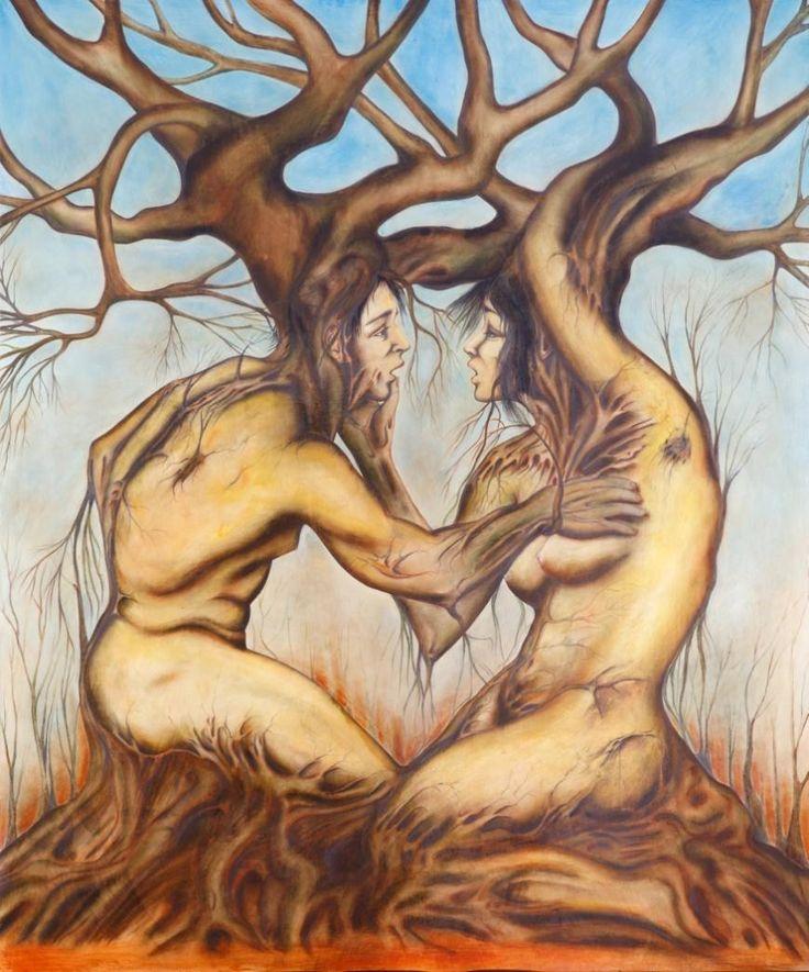 Metamorphosis Capsula Mundi Attilio Cianni #art #trees