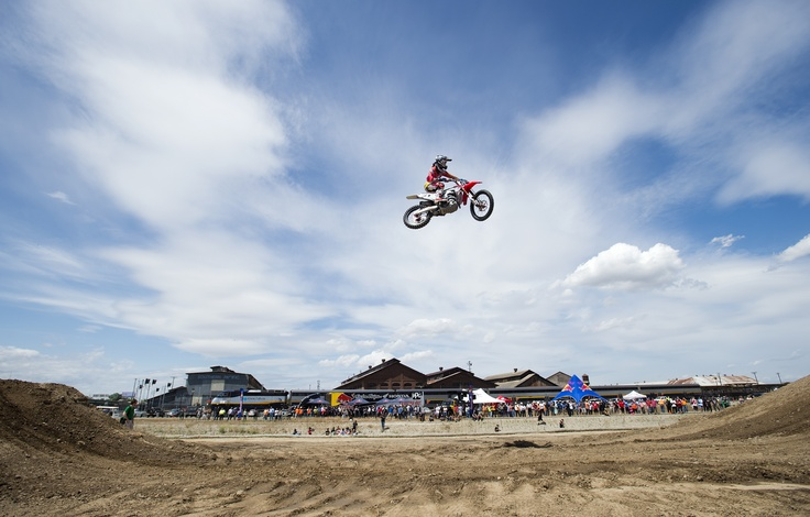 Hangtown #motocross demonstration USA Sacremento