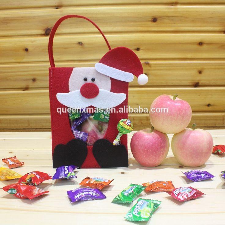 source new arrival felt handmade christmas gift bags in bulk on malibabacom