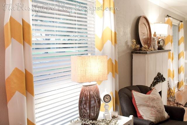 Chevon Curtains: Decor, Ideas, Craft, Diy'S, Yellow, Chevron Curtains, Painted Chevron