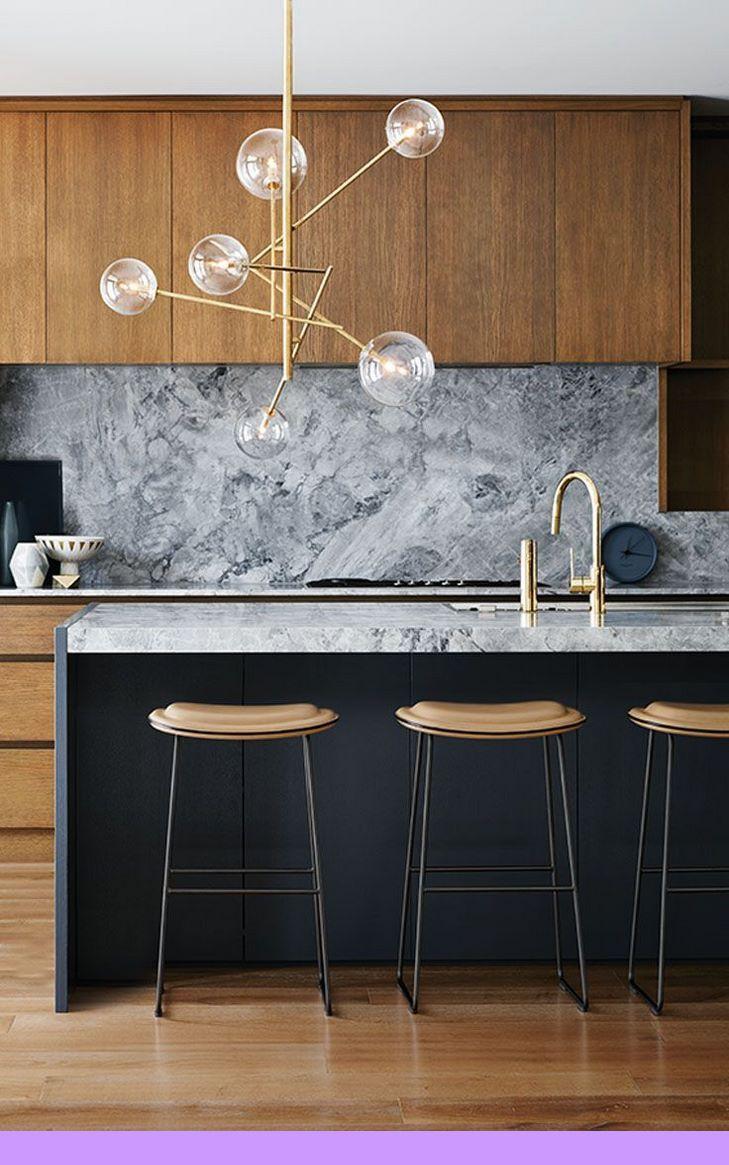 Dark Light Oak Maple Cherry Cabinetry And Teak Wood Kitchen Cabinets Kerala Check The Picture F Home Decor Kitchen Modern Kitchen Lighting Modern Kitchen