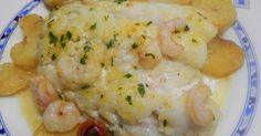 Fabulosa receta para Filete de bacalao al horno. Filete de bacalao fresco al horno, podemos poner bacalao desalado si nos gusta más esta muy sabroso y es rápido de hacer.