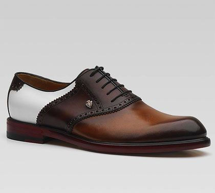 ^Gucci, Saddle Brogue