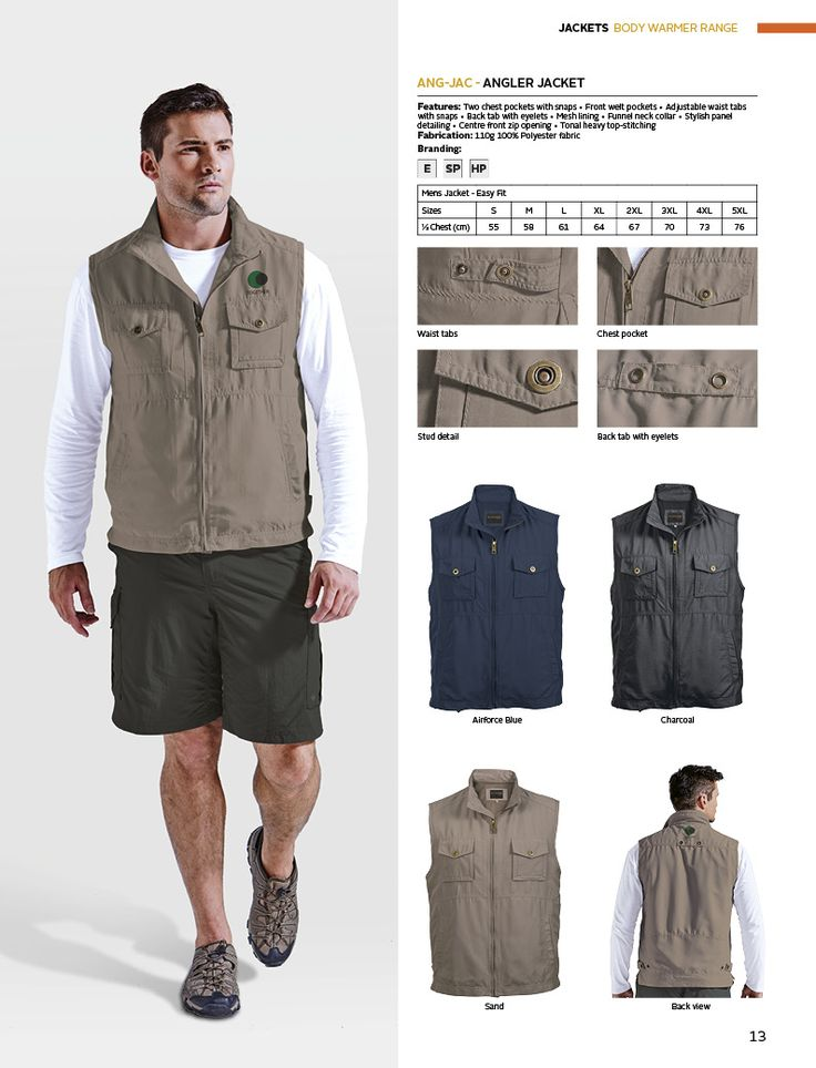 Angler Jacket | belleregaloshop