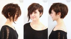 Poppy Assymetrical Pixie Anh Cotran Stylist Check out this website