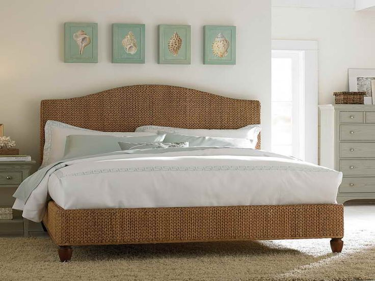 Stylish rattan king size headboards ideas shape of - King size headboard ideas ...