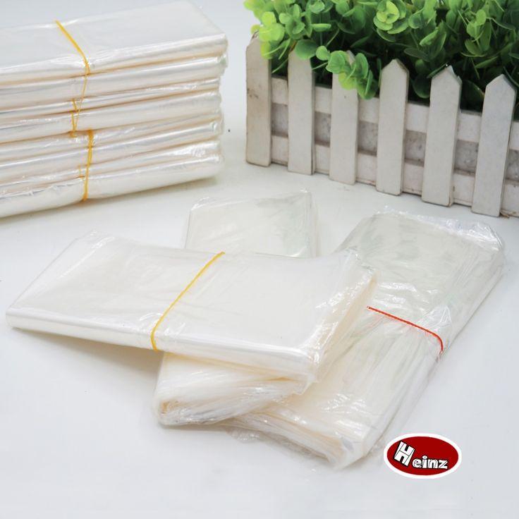 27*38cm  POF Heat shrink bag Transparent shrink wrap package  Heat seal bag Gift packing storage plastic bag.Spot 100/ package #Affiliate