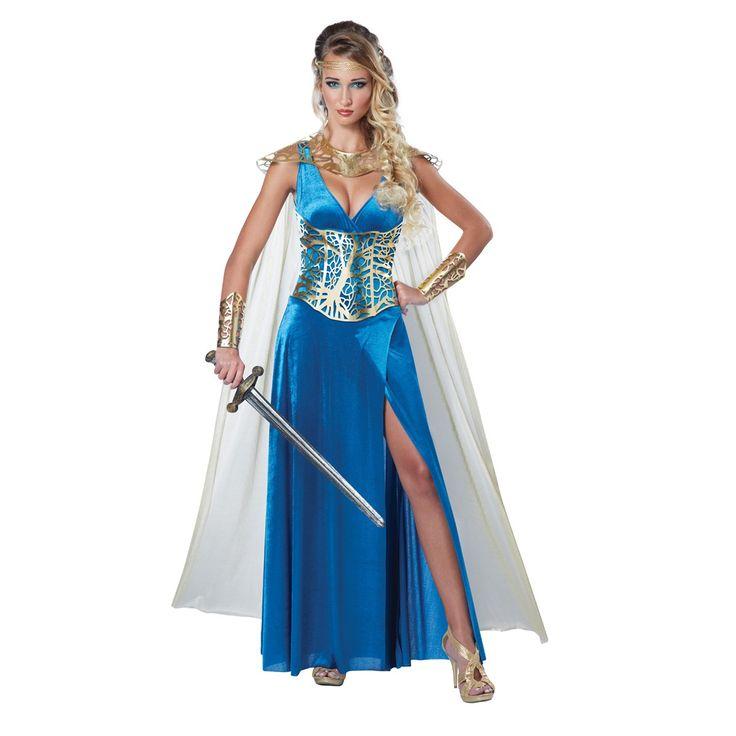 Vous pourrez crier victoire lorsque vous remporterez le concours du plus beau costume lors de votre prochaine fête thématique grâce à notre costume pour femmes de reine guerrière!Inclus:RobeCorsetCape avec armure aux épaulesPoignetsAutres accessoires non inclus