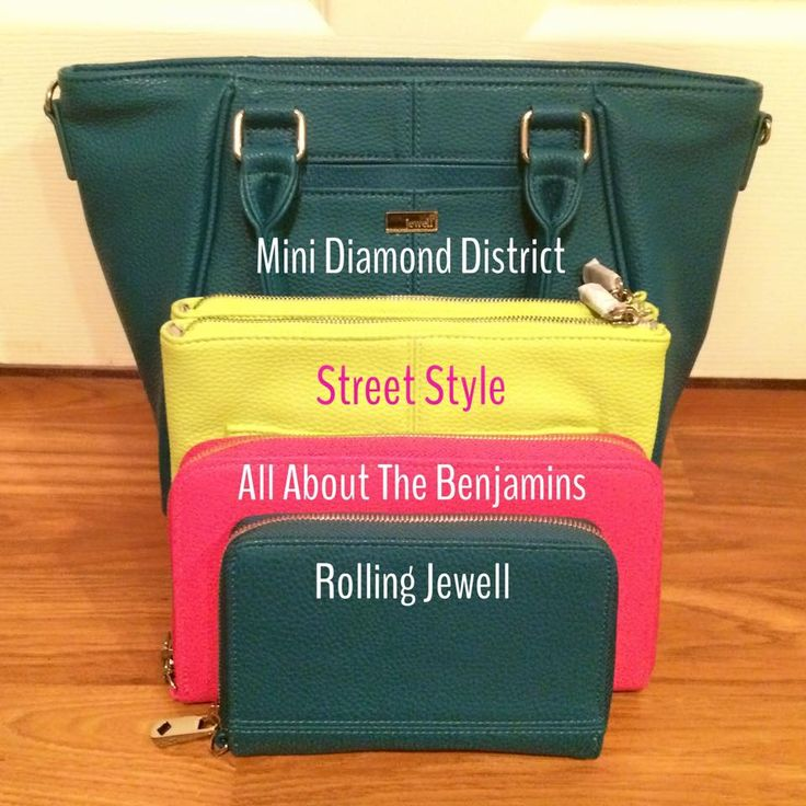 The Mini Diamond District, Street Style, All About the Benjamins, and the Rolling Jewell. All great Jewell products!!