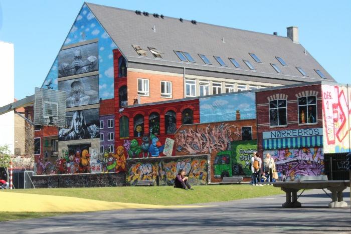 Street art on Nørrebro in #Copenhagen (Unknown)