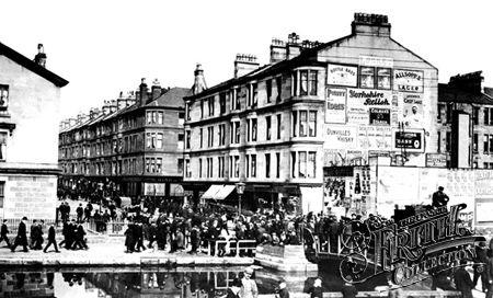 Kilbowie Road Clydebank 1900