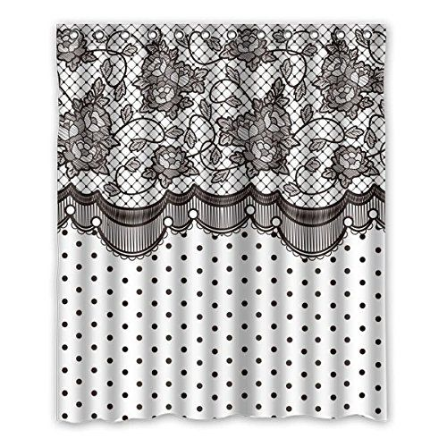 Spitzen-Vorhang-Hintergrund mit Polka dots Duschvorhang P... https://www.amazon.de/dp/B01FJNEXPU/ref=cm_sw_r_pi_dp_x_5O7aybTA0BYWR