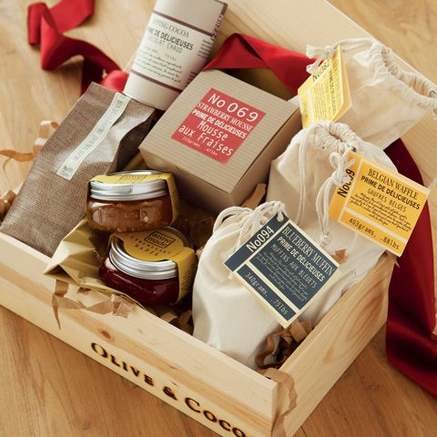 gourmet breakfast crate $158