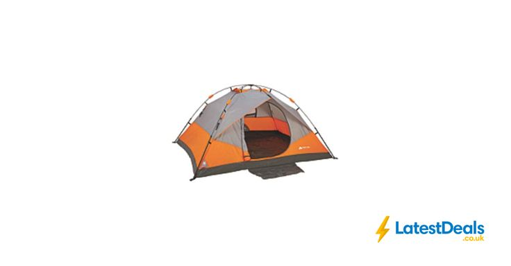 Ozark Trail 4-Person Instant Dome Tent *HALF PRICE* Free C+C, £25 at ASDA