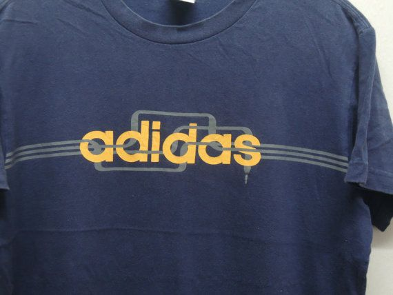 "#Vintage 90's #Adidas T Shirt Sport Street Wear Swag Hip Hop Top Tee Punk Rock Surf  Measurement : Armpit to armpit = 19"" Shoulder to end of garment = 25"" Material : 100% cot... #retro #sale #vintage #preloved #preused #shirts #t-shirts #adidas #nike #adicolor #puma #reebok"