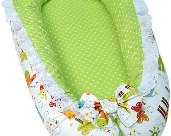 Nido del bambino Unisex Baby Nest menta Baby nido nido per