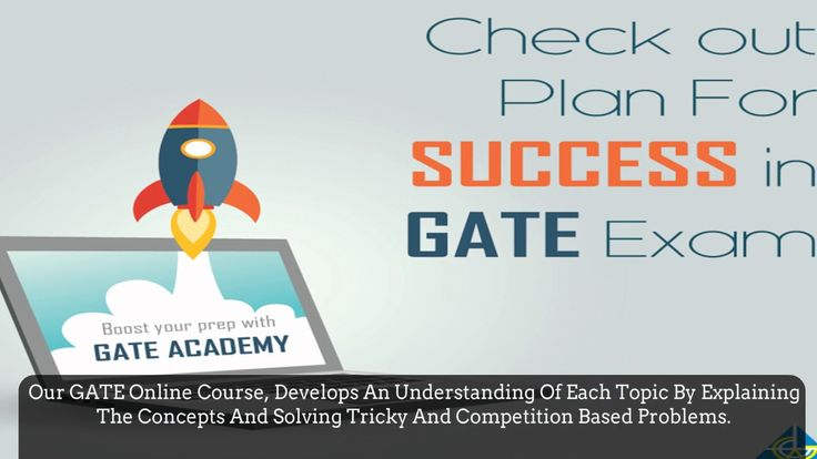 One should never stop learning. This is the reason we offer 'GATE online'. Our online venture gives you the advantage of flexibility, accessibility, and convenience. You can now access classes, lectures, books, tests and guidance on the go. Our GATE online series gives about 500 questions of every subject chosen by you, to help you access your skill level and grasp an understanding about GATE exam pattern.  Visit our site: http://gateacademy.co.in/