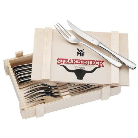 WMF 1280236040 Steakbesteck 12-teilig: Amazon.de: Küche & Haushalt - Weihnachtsgeschenk?