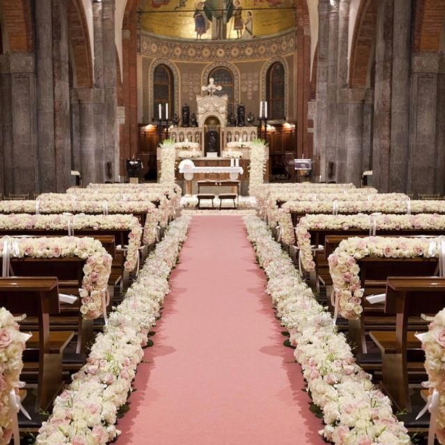Church Wedding Decorations Ideas For Your Wedding In Italy: 1000+ Images About Aisle Decorations On Pinterest