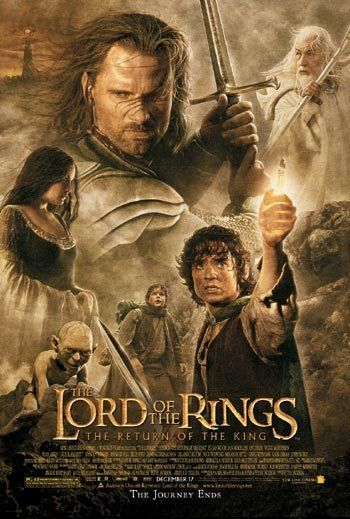 The Lord of the Rings: The Return of the King (2003) Aragorn leads the World of Men against Sauron's army to draw the dark lord's gaze from Frodo and Sam who are on the doorstep of Mount Doom with the One Ring.