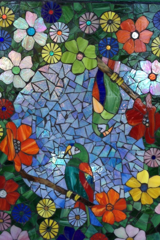 17 ideas about mosaic patterns on pinterest stained for Mosaic garden art designs