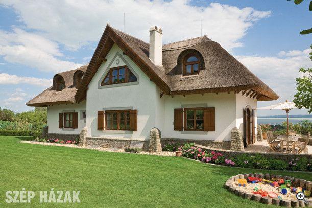 Udvarház a Balaton-felvidéken - Szép Házak