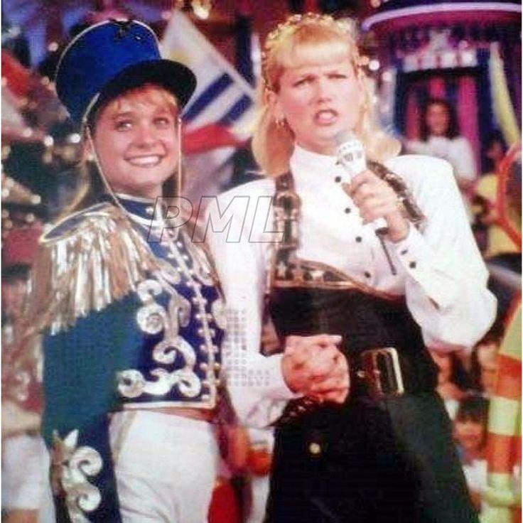 Xuxa e Karina Rivero. El Show de Xuxa - Telefe, 1992 #xuxa #xuxameneghel #elshowdexuxa #xoudaxuxa #pqt #paquita #paquitas #saudades #teextraño #argentina #karinarivero #elshowdexuxa26años #paquitasmitoselendas @kary.rivero1
