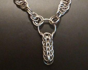 Collana a catena di anelli grandi e piccoli  di TheArtisaint
