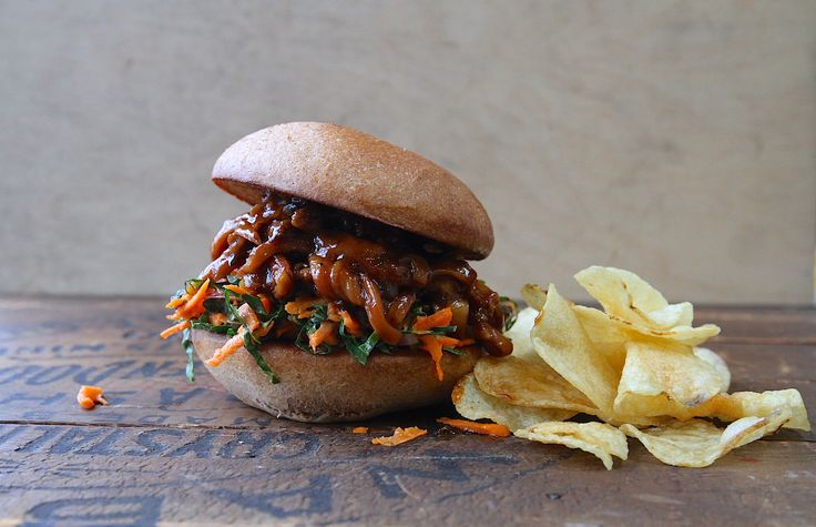 This Vegan Sandwich Is the Best Way to Do Meat-Free BBQ