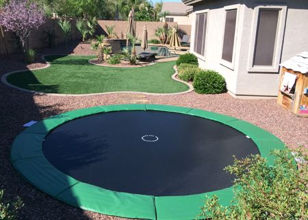 25 creative in ground trampoline ideas to discover and try on pinterest ground trampoline. Black Bedroom Furniture Sets. Home Design Ideas