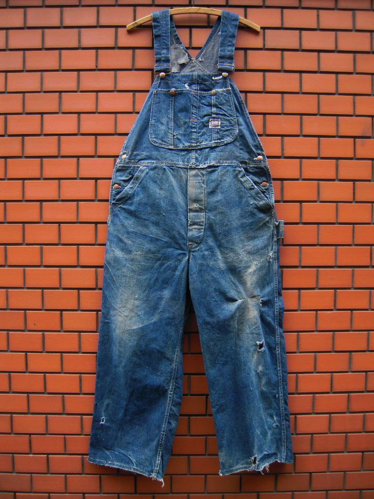 ~50's PAY DAY overalls