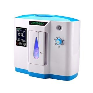 """REVIEW"" HUKOER Top Grade Portable Household Oxygen Concentrator Generator 1L Oxygen Making Machine Air Purifier 90% High Purity 6L Flow (white with blue)  #Airpurifier *** To view further for this item, visit the image link."