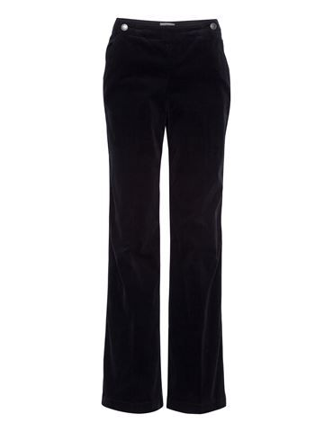 Trousers in baby cord - Black - NoaNoa