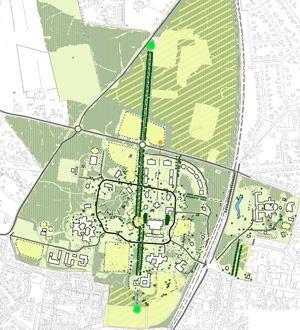 Visie en plan zorgterrein Landgoed Veldwijk te Ermelo door Vollmer & Partners