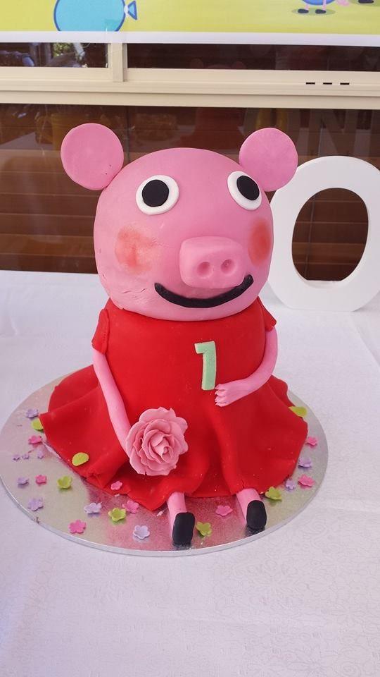 3d Peppa pig cake