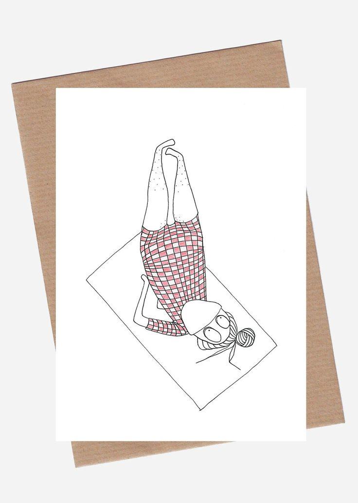 shoulderstand via SpilledAase.com. Click on the image to see more!