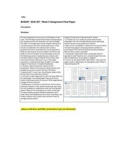 BUS307   BUS 307   Week 5 Assignment Final Paper --> http://www.scribd.com/doc/155155535/bus307-bus-307-week-5-assignment-final-paper