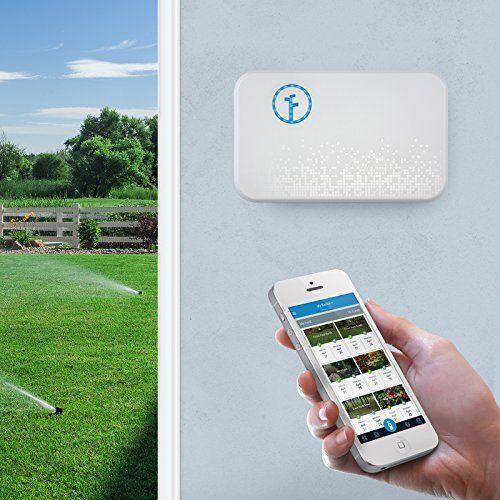 Sprinkler Controller Works with Alexa Watering Schedule Outdoor Garden Yard Tool #Rachio
