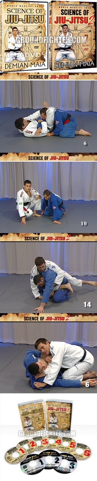 Demian Maia - Science of Jiu-Jitsu 1 & 2 Combo