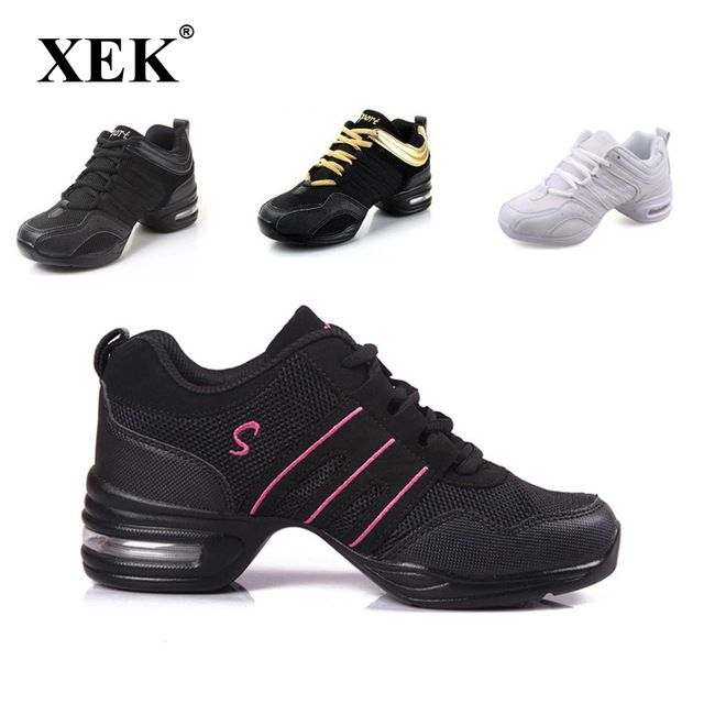 Just $12.98, Buy 2017 Sports Feature Soft Outsole Breath Dance Shoes Sneakers For Woman Practice Shoes Modern Dance Jazz Spring Summer sneakers
