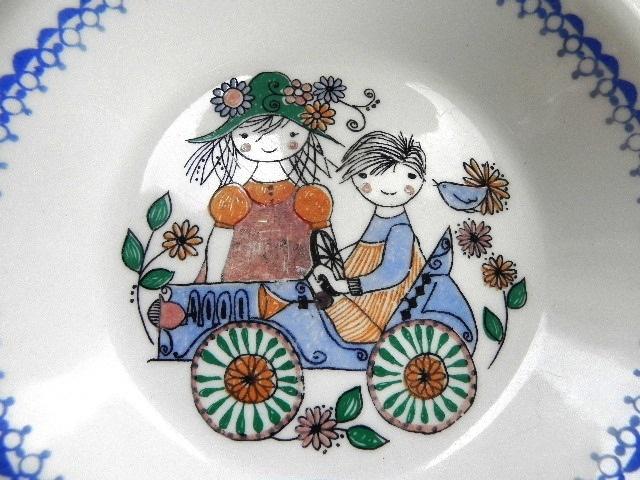 Figgjo Flint Norway Children's Bowl by EdibleComplex on Etsy (Beth), via Flickr