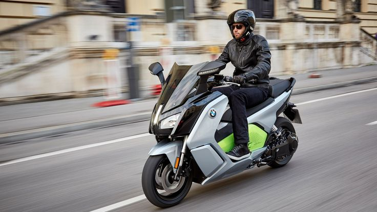 BMW's motorcycle division is bringing the updated version of its C evolution electric scooter to the United States. The new C Evolution uses the same battery technology that's going into the new...