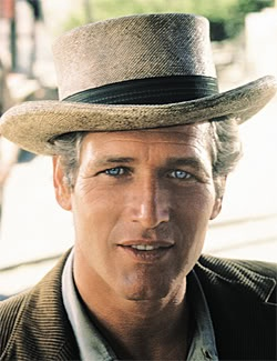 Paul Newman...Bowen's eyes are likened to Paul Newman's