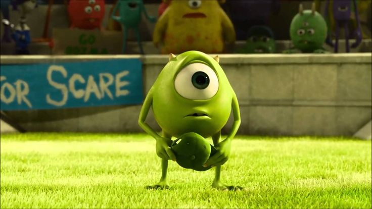 "Motivational short video - How to succeed - cartoon from ""Monster's University."""