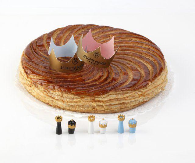 Galette des rois aux amandes, crème d'amandes, rhum grand agricole de la Martinique, pâte feuilletée croustillante et fondante, Sébastien Gaudard