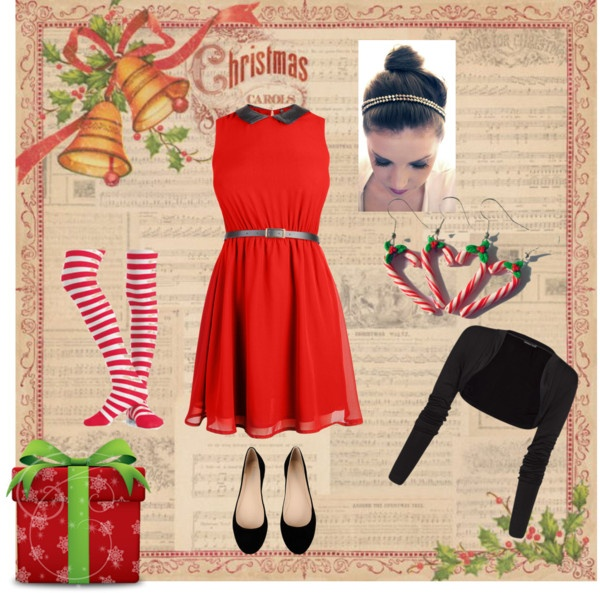 """xmas"" by mandytarragon on Polyvore"